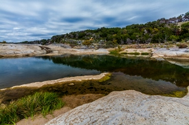 photo showing Pedernales Falls State Park in Texas