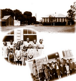photo collage of Cherry Mountain School