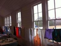 photo of aprons on display at Rheingold School's February 2013 open house